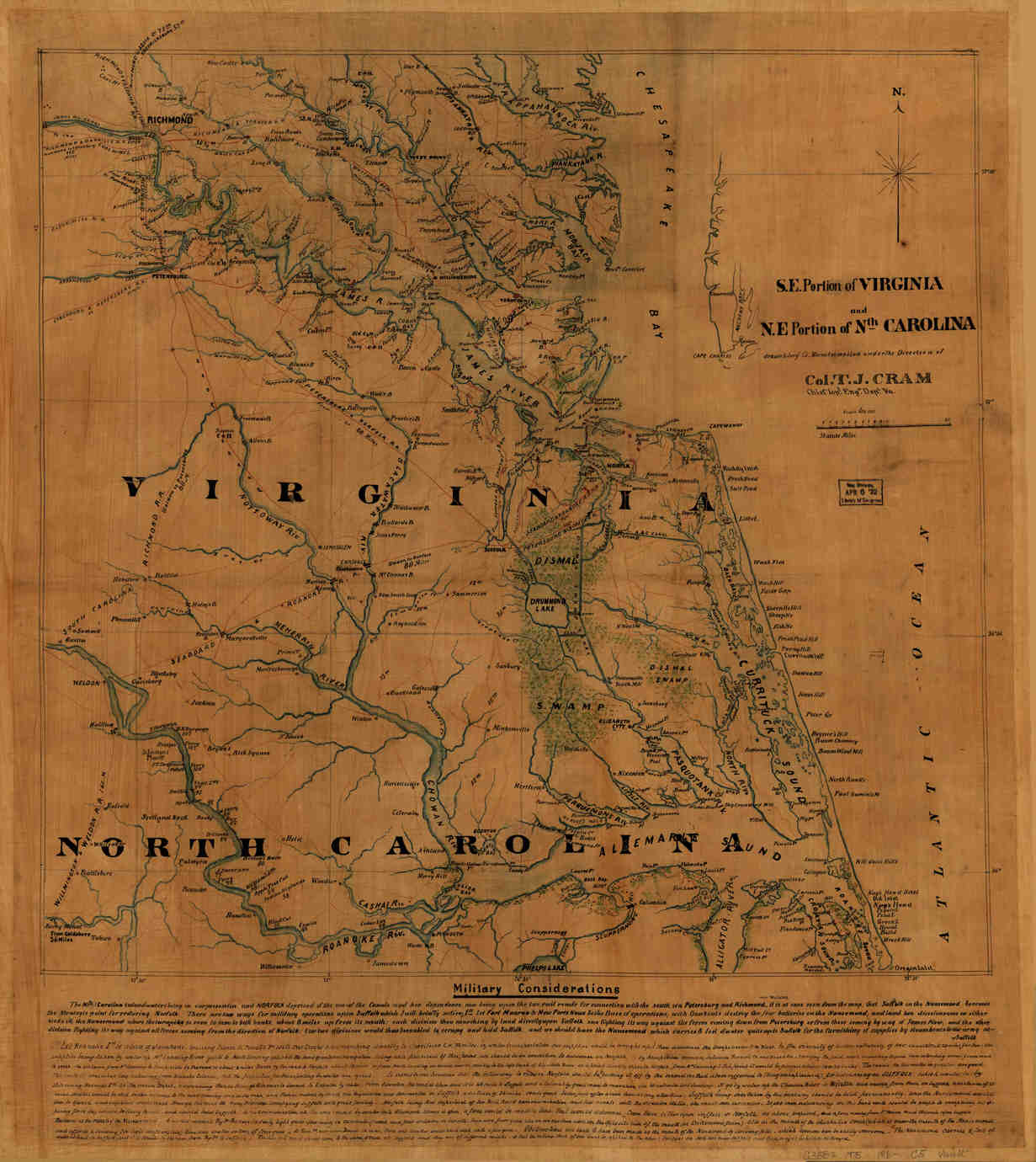 Old Maps Of N.C.& Tenn